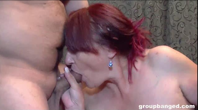 GroupBanged – Busty MILF – Marcella Loves Hard Cocks