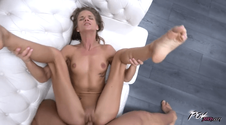POVBitch : Naughty Skinny Cockrider – Sarah Kay