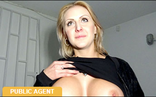 PublicAgent: Perfect boobs get covered in jizz – Jessica Hunter
