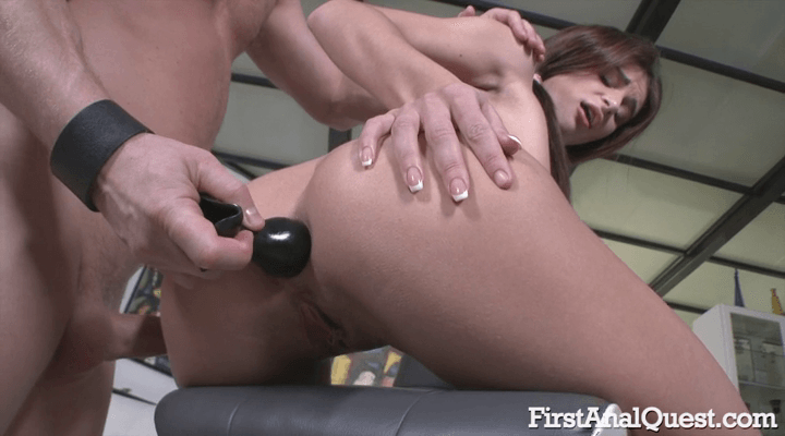 FirstAnalQuest – Kate Rich  – gaping anal on camera