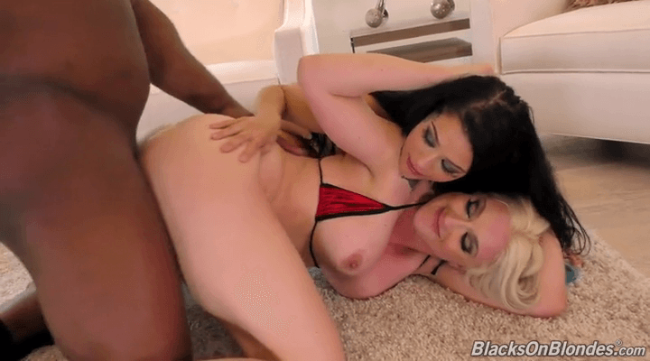 BlacksOnBlondes  – Katrina Jade , Leya Falcon