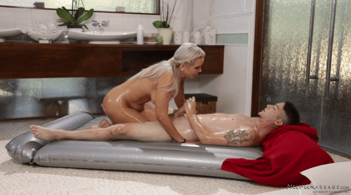 NuruMassage: The Virgin Son – Nina Elle