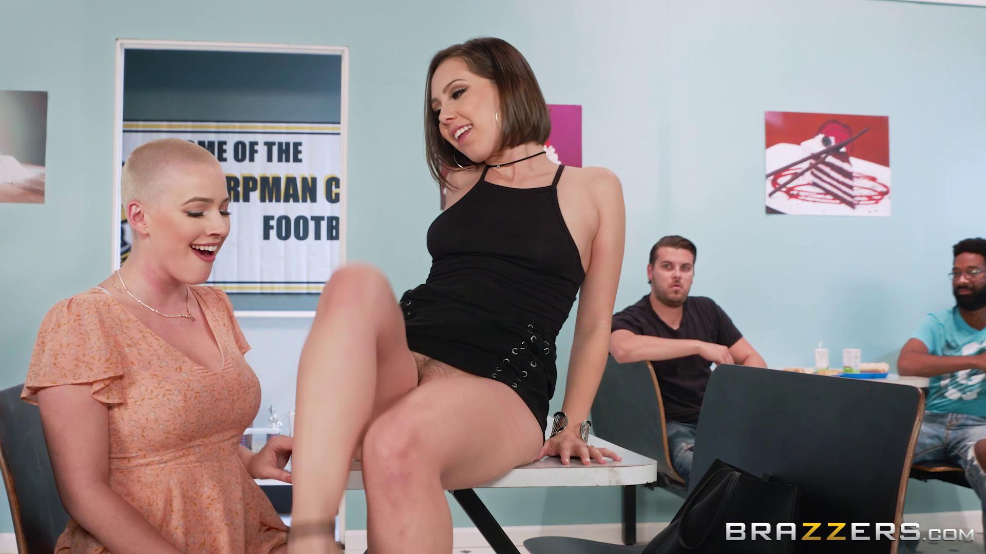 HotAndMean – Jenna Sativa And Riley Nixon A Lunchtime Licking