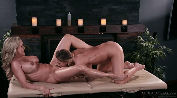 AllGirlMassage:  Worshipping Mom – Carter Cruise , Brandi Love