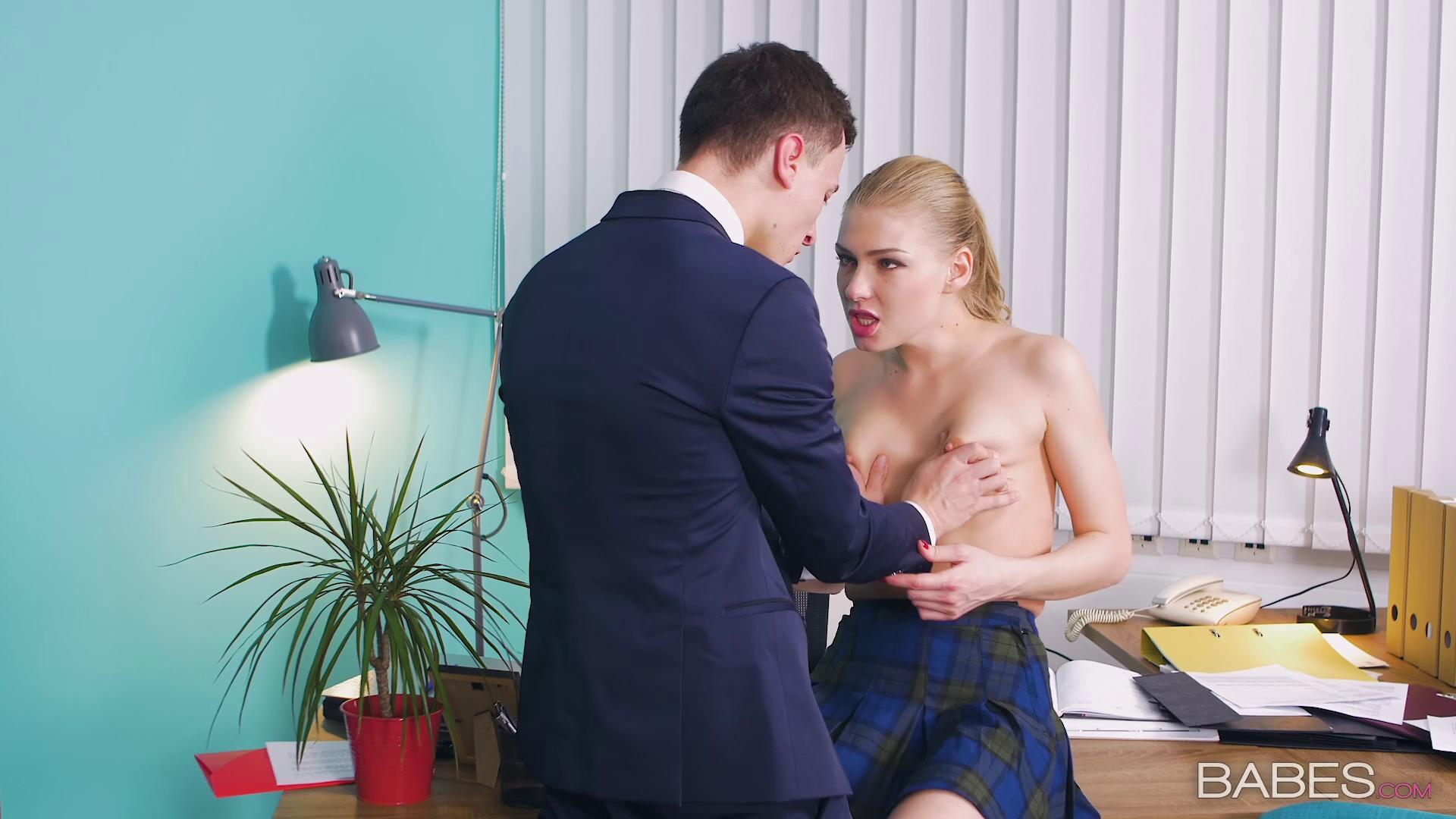 OfficeObsession – Lucy Heart Bring Your Daughter To Work Day