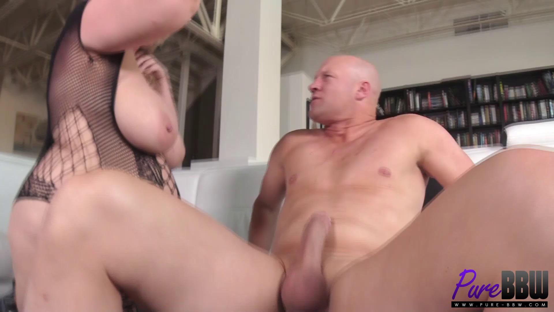 Pure-BBW – Lila Lovely Amazon Blonde Takes It In The Ass Like A Champ