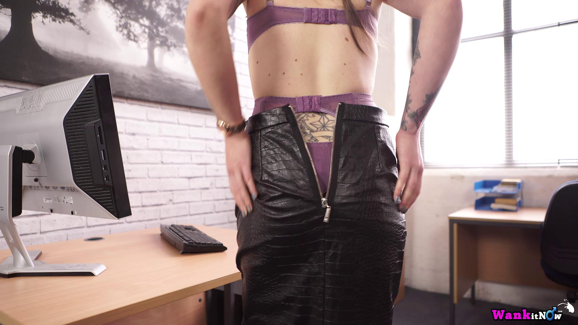 WankItNow – Elouise Please The Office Slut