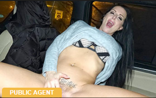 PublicAgent: She goes wild for his big cock – Texas Patti