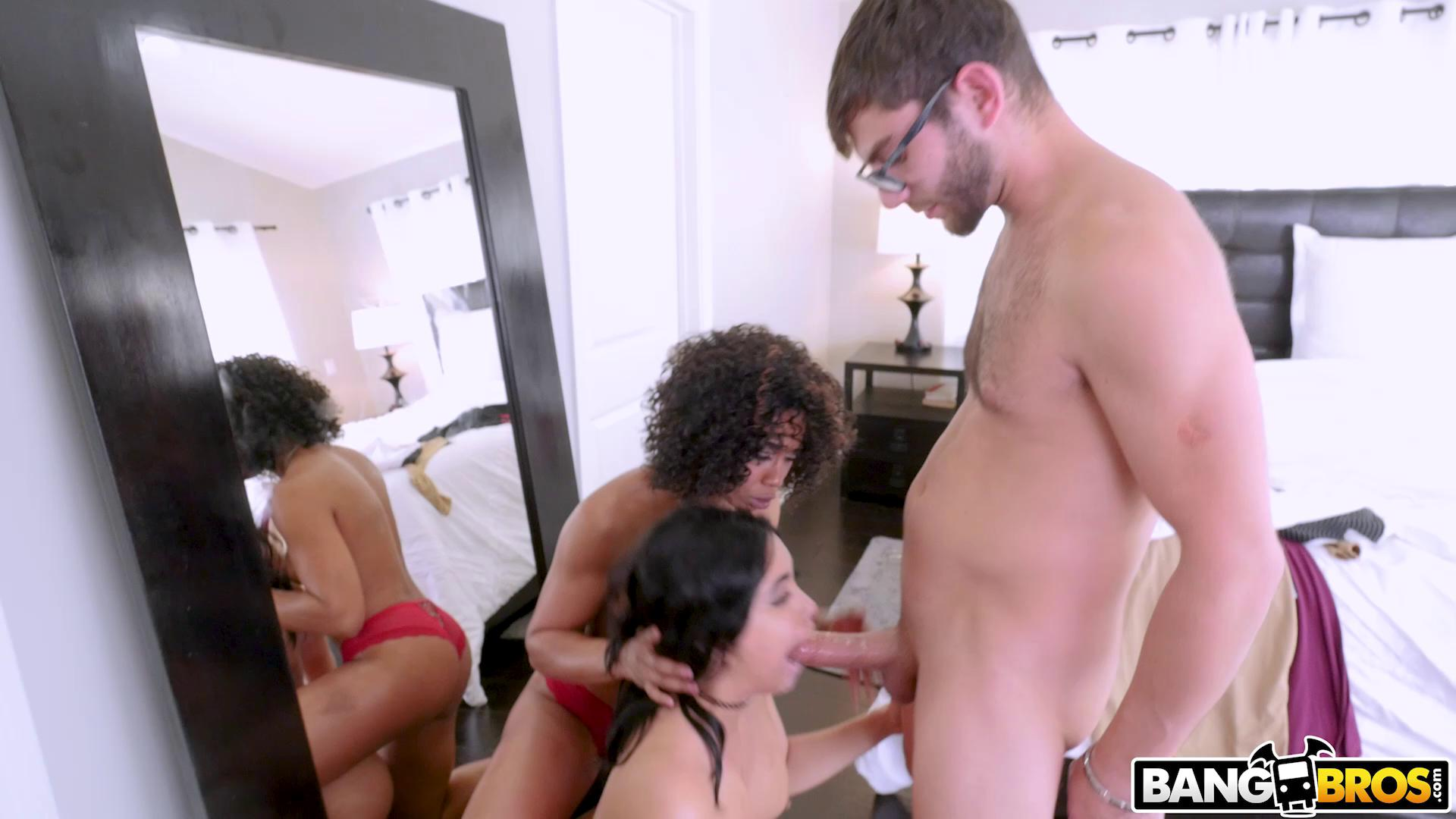 BrownBunnies – Misty Stone And Aaliyah Hadid