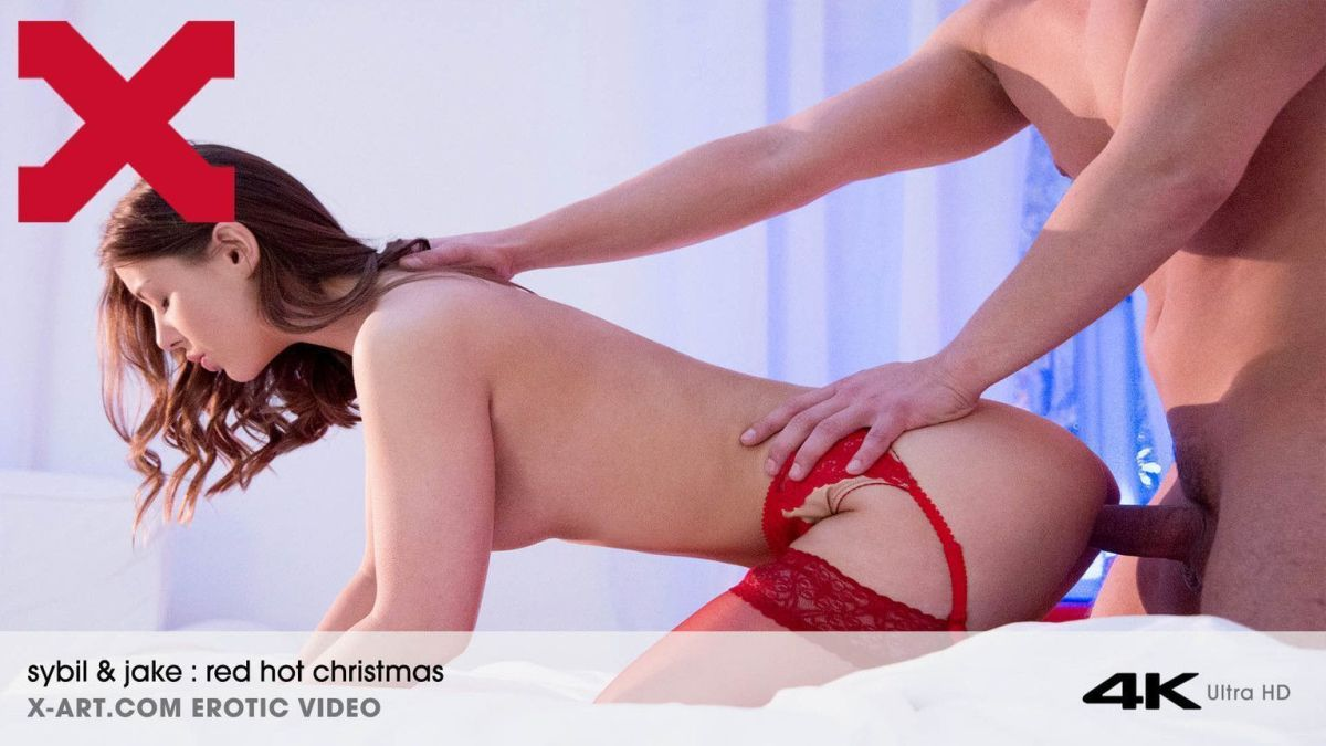 X-Art – Sybil  – Red Hot Christmas