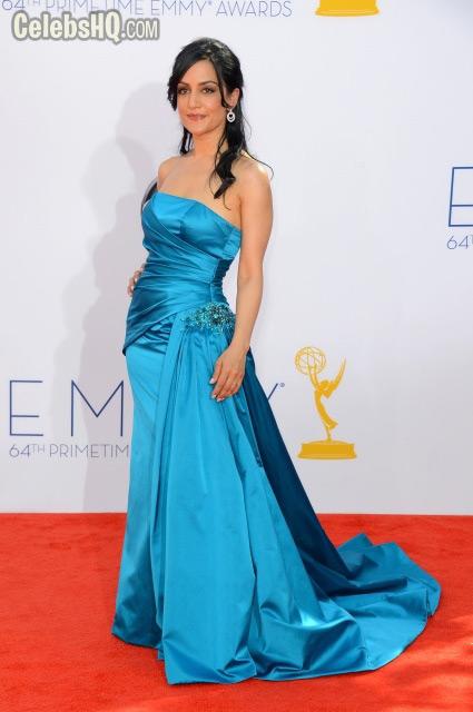 Primetime Emmy Awards At Nokia Theatre Los Angeles Archie Panjabi photo
