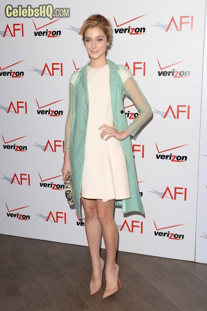 Afi Awards Luncheon In Beverly Hills Caitlin Fitzgerald photo