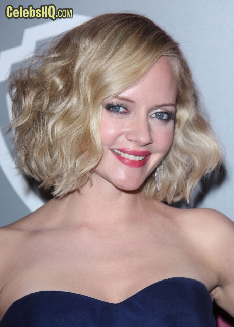 Instyle Warner Brothers Golden Globes Party Beverly Hills Marley Shelton photo