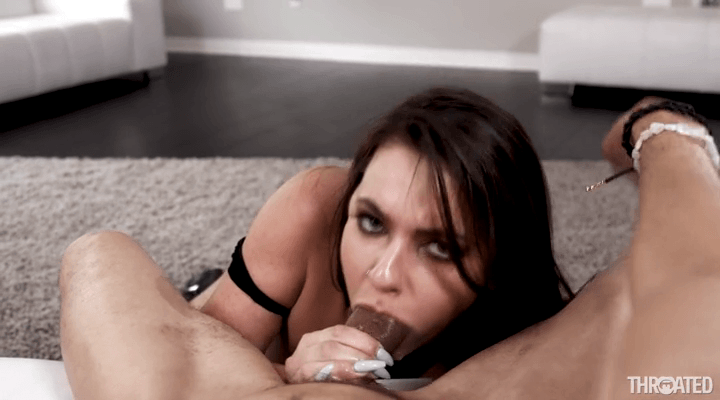 Throated :  – Scarlet Sade